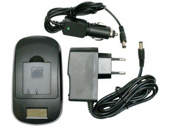 Зарядное устройство ExtraDigital для Panasonic CGR-D, DMW-BL, CGR-S (LCD) (DV0LCD2021)