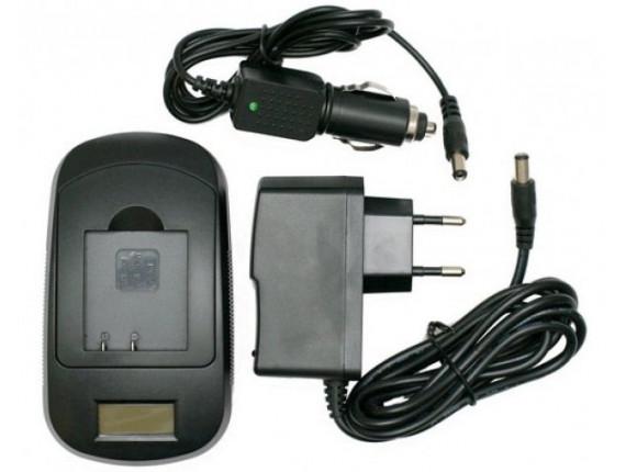 Зарядное устройство ExtraDigital для Panasonic DMW-BCD10, S007, S007E (LCD) (DV0LCD2147)