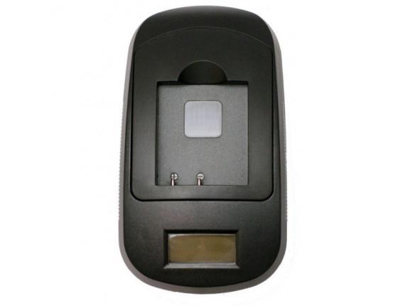 Зарядное устройство ExtraDigital для Panasonic VW-VBN130, VBN260 (LCD) (DV0LCD3049)