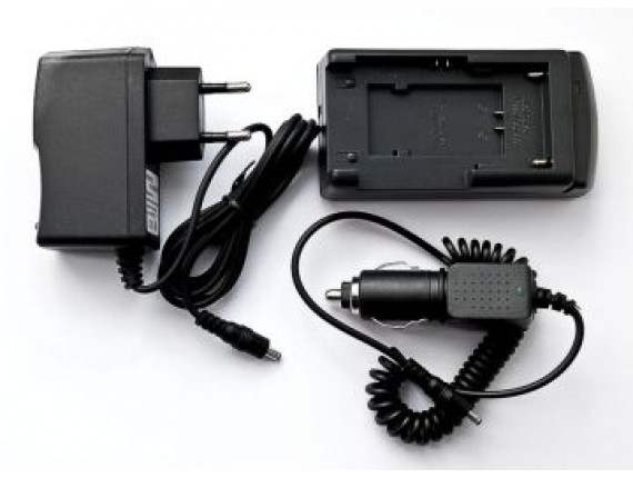 Зарядное устройство PowerPlant для Canon BP-208, BP-308, BP-315, JVC BN-V507, BN-V514 (DV00DV2908)