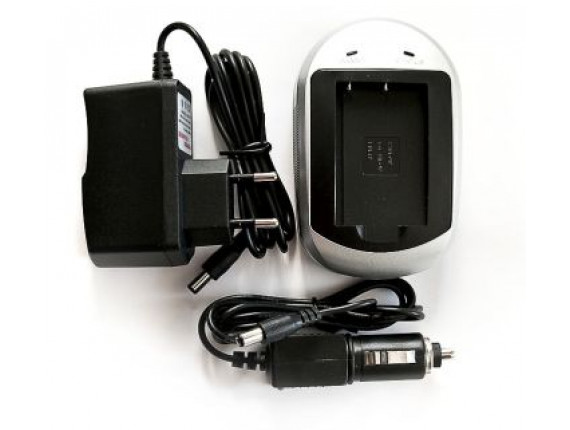 Зарядное устройство PowerPlant для Olympus Li-40B, Li-42B, D-Li63, KLIC-7006, EN-EL10, NP-45 (DV00DV2043)