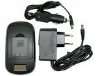Зарядное устройство ExtraDigital для Samsung SB-L0837, KLIC-7005 (LCD) (DV0LCD2217)