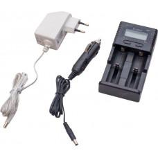 Зарядное устройство Soshine Universal для AA/AAA/18650/RCR123, 2 ячейки SC-H2