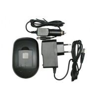 Зарядное устройство ExtraDigital для Olympus PS-BLS1, Fuji NP-140, Samsung IA-BP80W (DV00DV2193)
