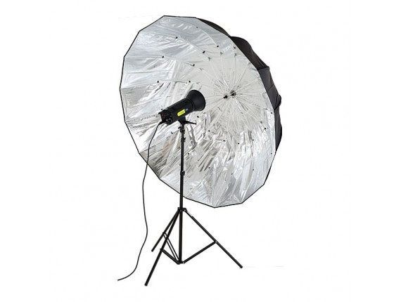 Фотозонт LASTOLITE Mega Umbrella 157cm Silver Parabolic (7908)