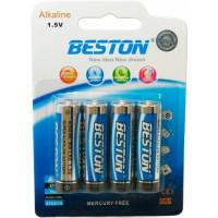 Батарейка Beston AA 1.5V Alkaline, 4шт (AAB1831)