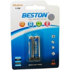 Батарейка Beston AAA 1.5V Alkaline, 2шт (AAB1832)