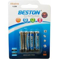 Батарейка Beston AAA 1.5V Alkaline, 4шт (AAB1833)