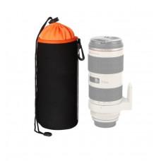 Чехол для объектива AccPro CA-1791E-XL black/orange