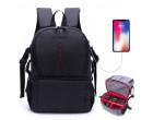 Рюкзак AccPro DAC-1721G black/red