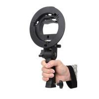 Держатель для вспышек AccPro S-Type bracket with handle