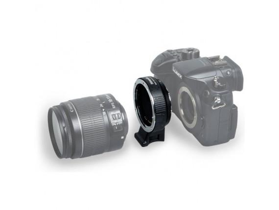 Переходное кольцо Commlite CM-AEF-MFT (AF) EF / EF-S Lens to Micro Four Thirds Adapter