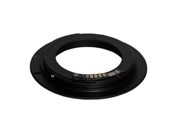 Переходное кольцо JYC для Nikon - Canon EOS (AF) программируемое
