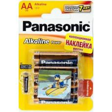 Батарейка Panasonic Alkaline Power AA BLI, 4шт. (LR6REB/4BPS)