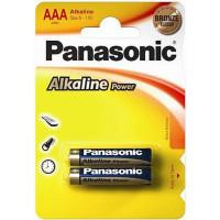 Батарейка Panasonic LR03 Alkaline Power AAA, 2шт. (LR03REB/2BP)