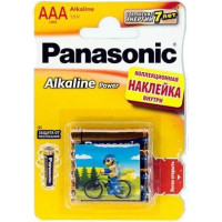 Батарейка Panasonic Alkaline Power AAA BLI, 4шт. (LR03REB/4BPS)