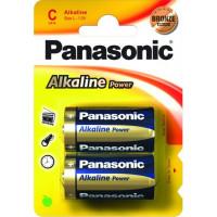 Батарейка Panasonic Alkaline Power C, 2шт. (LR14REB/2BP)