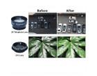 Объектив для телефона Apexel Deluxe Lens Clip Kit 5 in 1 black