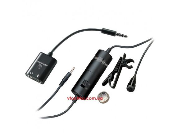 Микрофон петличный Audio-technica ATR 3350iS для смартфона