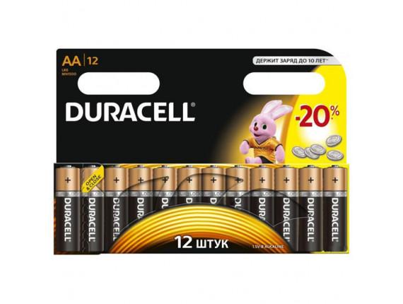 Батарейка Duracell AA LR06 MN1500 (12шт)