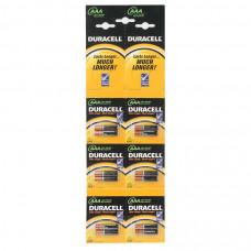 Батарейка Duracell AAA LR03 MN2400 отрывной 2x6 (12шт)