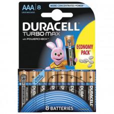 Батарейка Duracell AAA LR03 MX2400 Turbo Max (8шт.)