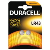 Батарейка Duracell LR43 (2шт)