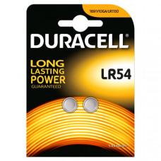 Батарейка Duracell LR54 (2шт)