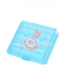 Футляр для аккумуляторов Sanyo battery case 4 (AA/AAA) blue