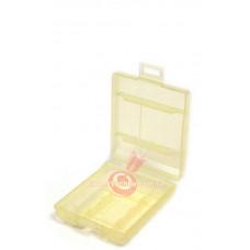 Футляр для аккумуляторов Sanyo battery case 4 (AA/AAA) yellow