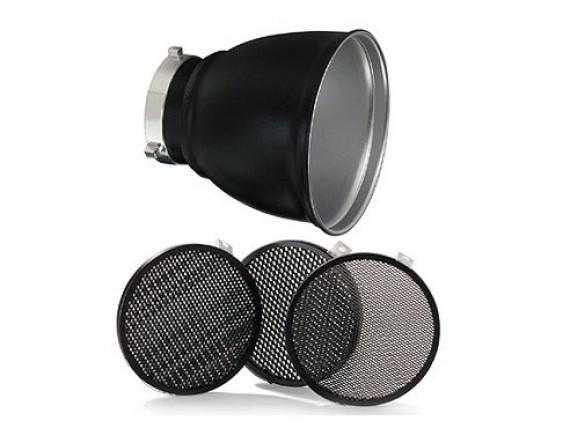 Рефлектор BOWENS GRID 60° REFLECTOR 18cm WITH 3 GRIDS с тремя сотами 1/8 3/16 1/4 (BW-1865)