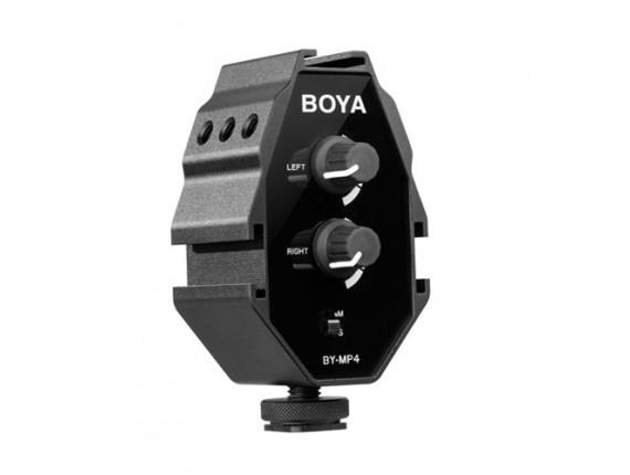 Аудио микшер Boya BY-MP4