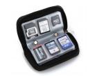 Чехол для карт памяти Visico Case Wallet MC-SD18CF4 black