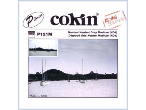 Квадратный фильтр Cokin P 121M Grad. Neutral Grey G2-Medium (ND4) (0.6)