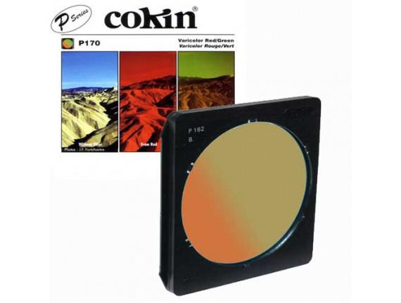Квадратный фильтр Cokin P 170 Varicolor Red/Green