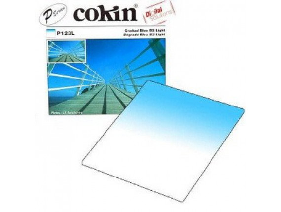 Квадратный фильтр Cokin P 123L Gradual Blue B2-Light