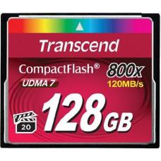 Карта памяти Transcend CompactFlash 128GB 800x (TS128GCF800)