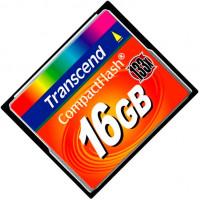 Карта памяти Transcend CompactFlash 16GB 133x (TS16GCF133)