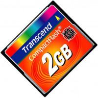 Карта памяти Transcend CompactFlash 2GB 133x (TS2GCF133)