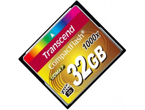 Карта памяти Transcend CompactFlash 32GB 1000x (TS32GCF1000)