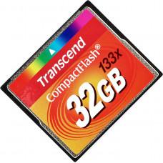 Карта памяти Transcend CompactFlash 32GB 133x (TS32GCF133)