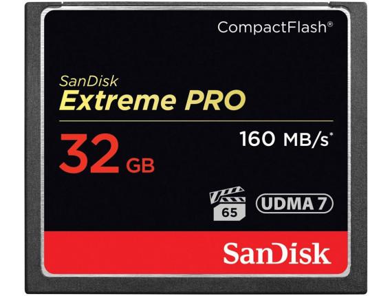 Карта памяти Sandisk CompactFlash 32GB Extreme Pro (SDCFXPS-032G-X46)