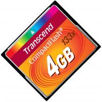 Карта памяти Transcend CompactFlash 4GB 133x (TS4GCF133)