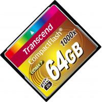 Карта памяти Transcend CompactFlash 64GB 1000x (TS64GCF1000)