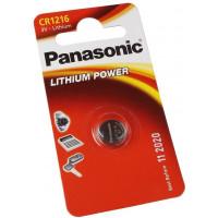 Батарейка Panasonic CR1216 Lithium, 1шт. (CR-1216EL/1B)