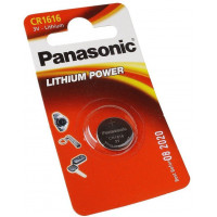 Батарейка Panasonic CR1616 Lithium, 1шт. (CR-1616EL/1B)