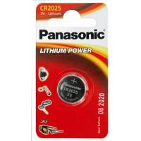 Батарейка Panasonic CR2025 BLI 1 Lithium (CR-2025EL/1B)