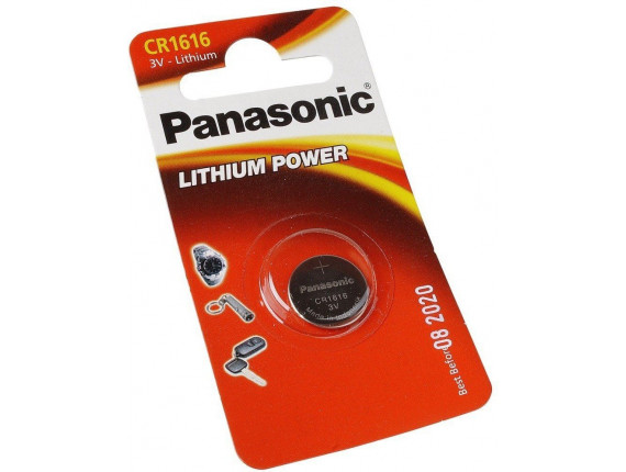 Батарейка Panasonic CR2430 BLI 1 Lithium (CR-2430EL/1B)