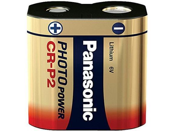 Батарейка Panasonic CRP2L BLI 1 Lithium (CR-P2L/1BP)