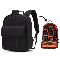 Рюкзак Huwang DAC-3461E black/orange